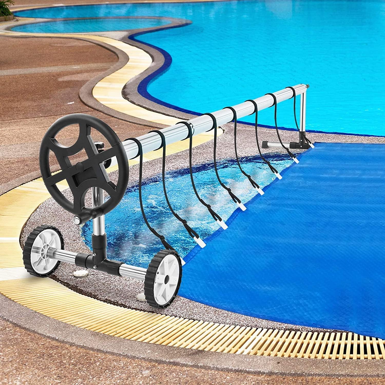 enrollador manta termica piscina
